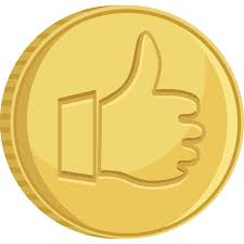 thumbs up bitcoin