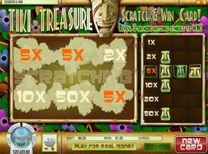 tiki-treasure scratch off